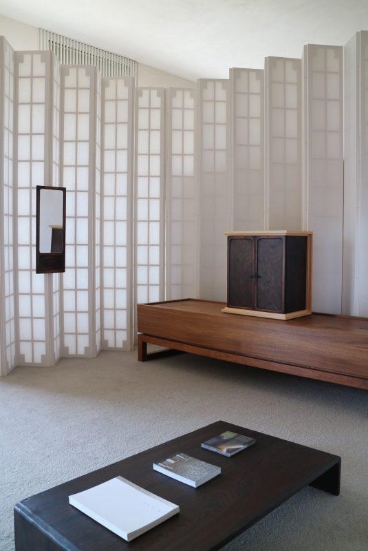 3枚の写真は、多田さんのご厚意により、納品前に仏壇の展示会をさせていただいたときのもの